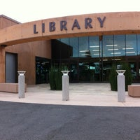 Photo taken at San Diego County Library - Encinitas by Victoria C. on 9/4/2011