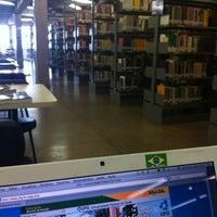 Photo taken at Biblioteca Central Prof. Alpheu da Veiga Jardim (BC) by Renato R. on 1/27/2012