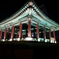Photo taken at Hwaseong Fortress by Yoyo M. on 12/29/2011
