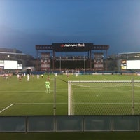 Photo taken at Toyota Stadium by Katelynn H. on 9/18/2011