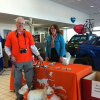 Photo taken at Morrie's Brooklyn Park Nissan by Deb B. on 12/9/2011