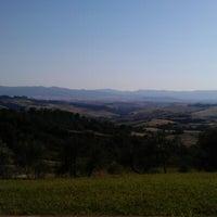 Photo taken at Agriturismo resort Belmonte Vacanze by Verhulst D. on 7/10/2012