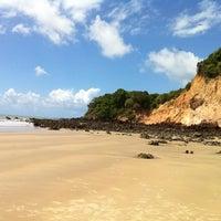 Photo taken at Praia de Pium by Felipe V. on 6/5/2012