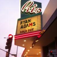 Photo taken at Rio Theatre by Chris P. on 10/18/2011
