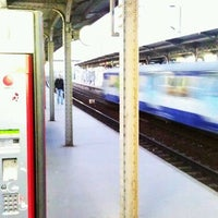 Photo taken at Gare SNCF de Clichy Levallois by Gabriel H. on 1/15/2012