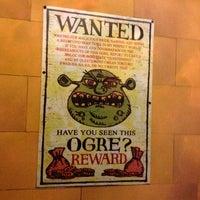 Photo taken at Shrek 4-D Adventure by Thong H. on 6/18/2012