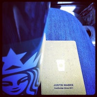 Photo taken at Starbucks by Justin M. on 1/28/2012