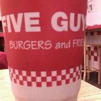 Photo taken at Five Guys by Julio R. on 12/16/2011