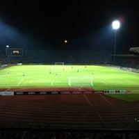 Photo taken at Stadium Negeri by Nazrin G. on 9/6/2011