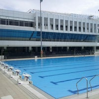 Photo taken at Swimming Pool @ Sports Complex by Cuthbert C. on 2/13/2012