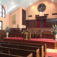 Photo taken at Ebenezer Baptist Church by Alisia S. on 8/12/2012