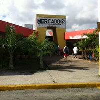 Photo taken at Mercado 28 by Tmö O. on 2/20/2012