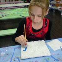 Photo taken at Painting Fun Spot by Florence B. on 11/26/2011