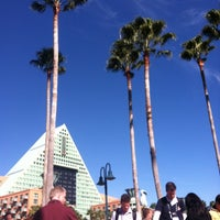 Photo taken at Walt Disney World Swan Hotel by Bree B. on 1/15/2012