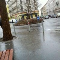 Photo taken at Sparkassaplatz by Anna Genial L. on 2/28/2012