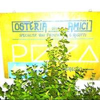 Photo taken at Osteria degli Amici by Roland H. on 8/26/2011