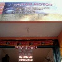Photo taken at Naifah Motor by Ridho E. on 6/25/2012