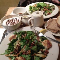 Photo taken at Le Pain Quotidien by Leslie N. on 12/28/2011