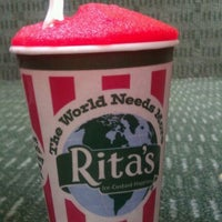 Photo taken at Rita's Italian Ice by Monyelle M. on 3/20/2012