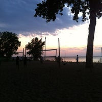 Photo taken at Whiskey Island Volleyball Courts by Connie on 7/26/2012