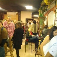 Photo taken at Pieces Pizza by the Slice by Christopher G. on 2/12/2012