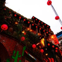 Photo taken at Jiufen Old Street by Kueihua G. on 11/12/2011