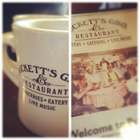 Photo taken at Puckett's Grocery & Restaurant by Evan P. on 11/11/2011
