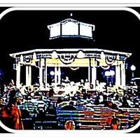 Photo taken at Rehoboth Beach Bandstand by Gar G. on 8/20/2011