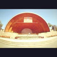 Photo taken at DCR Hatch Memorial Shell by Kal M. on 8/26/2012