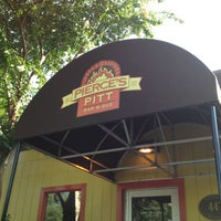Photo taken at Pierce's Pitt Bar-B-Que by Cheeky C. on 7/26/2012