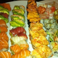 Photo taken at Sushi Palace by Lester M. on 4/18/2011