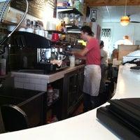 Photo taken at Boulevard Cafe by Justin V. on 12/19/2011