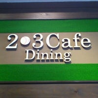 Photo taken at 2-3 Cafe&Dining by KEN y. on 9/1/2011