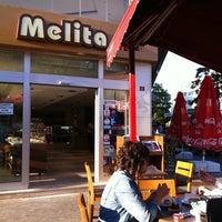 Photo taken at Melita Cafe & Restaurant by Sibel A. on 10/1/2011