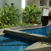 Photo taken at Courtyard by Marriott Phuket at Patong Beach by Juan A. on 1/25/2012