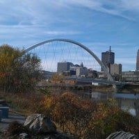 Photo taken at Pedestrian Bridge by Rachel D. on 11/4/2011