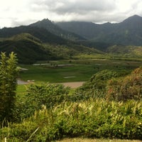 Photo taken at Hanalei Valley Lookout by V V. on 9/17/2011