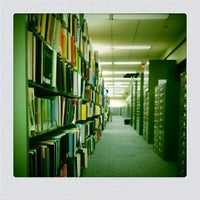 Photo taken at USF Library by Luke W. on 11/2/2011