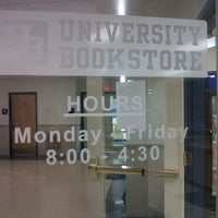 Photo taken at University Bookstore by Julie N. on 5/26/2011