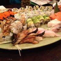 Photo taken at Sushi Palace by Thai on 8/18/2012