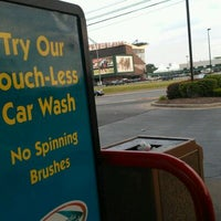 Photo taken at Delta Sonic Car Wash by Nick D. on 5/26/2012