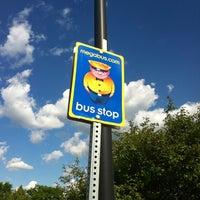 Photo taken at Megabus Stop by Joe R. on 6/6/2012