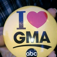 Photo taken at Good Morning America Studios by Felicia J. on 10/7/2011