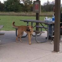 Photo taken at Lyon Oaks Bark Park by Nichole K. on 9/24/2011