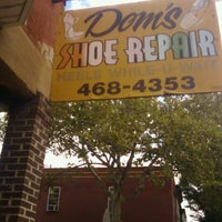 Photo taken at Dom's Shoe Repair by Candace R. on 10/21/2011
