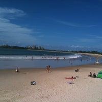 Photo taken at Mooloolaba Beach by Debra M. on 4/5/2011