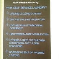 Photo taken at WonderWash Laundromat by Ryan L. on 8/16/2012