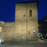 Photo taken at Porta Mascarella by Vincenzo R. on 3/17/2012