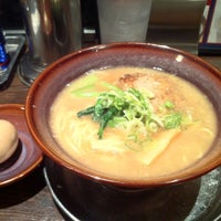 Photo taken at 光麺 六本木店 by Yoshihiro K. on 6/19/2012