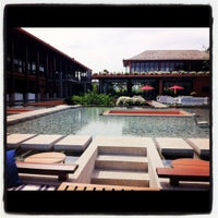 Photo taken at Baba Pool Club At Sri Panwa by Alfie I. on 11/19/2011
